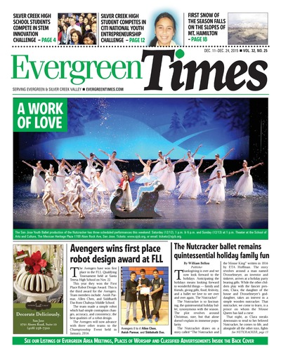 Evergreen Times - Dec 11, 2015