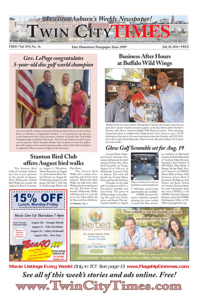 Twin City Times - Jul 28, 2016