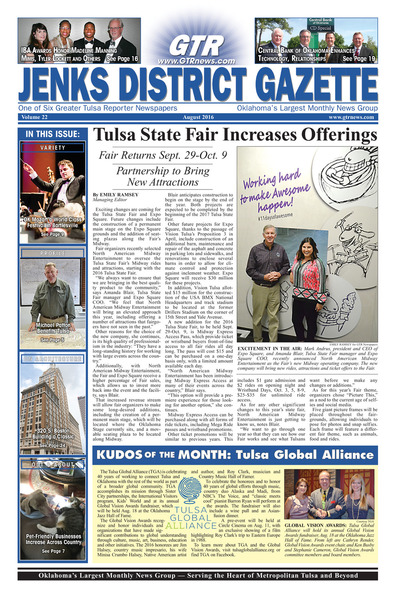 Jenks District Gazette - August 2016