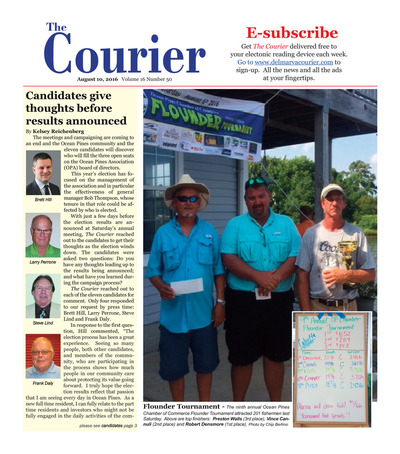 Delmarva Courier - Aug 10, 2016