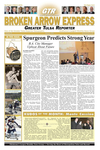 Broken Arrow Express - January 2016