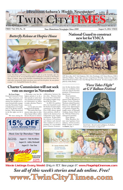 Twin City Times - Aug 11, 2016