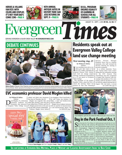 Evergreen Times - Aug 19, 2016