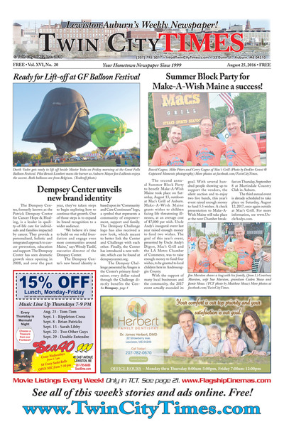 Twin City Times - Aug 25, 2016
