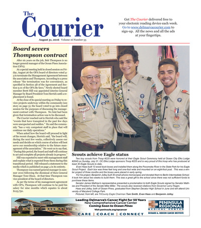 Delmarva Courier - Aug 31, 2016