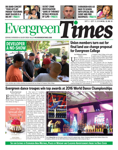 Evergreen Times - Sep 2, 2016
