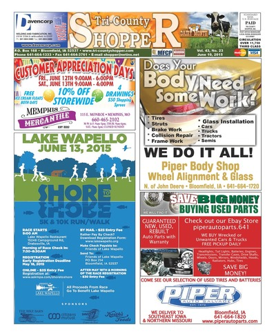 Tri-County Shopper - Jun 10, 2015