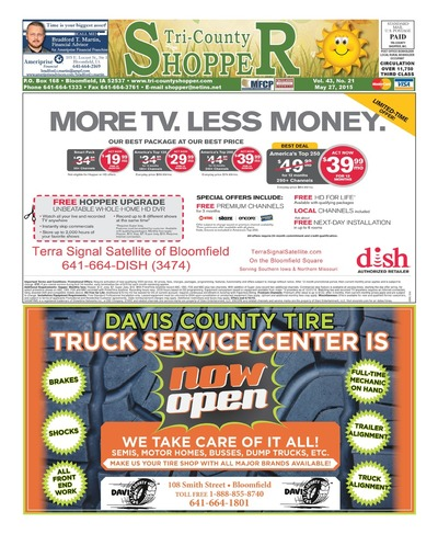 Tri-County Shopper - May 27, 2015