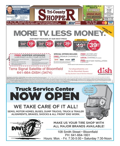 Tri-County Shopper - Jun 3, 2015