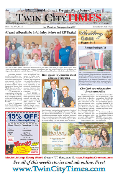 Twin City Times - Sep 15, 2016