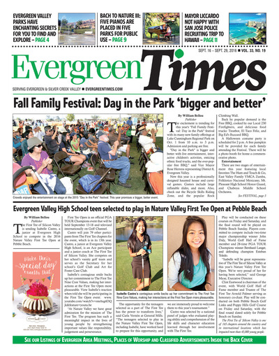Evergreen Times - Sep 16, 2016