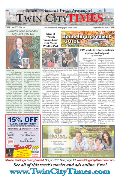 Twin City Times - Sep 22, 2016