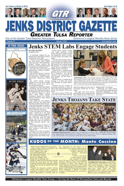 Jenks District Gazette - January 2016