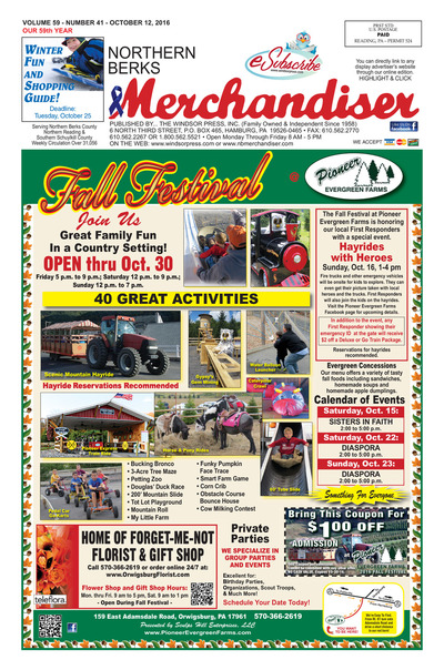 Northern Berks Merchandiser - Oct 12, 2016