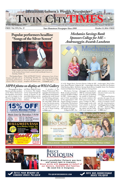 Twin City Times - Oct 13, 2016
