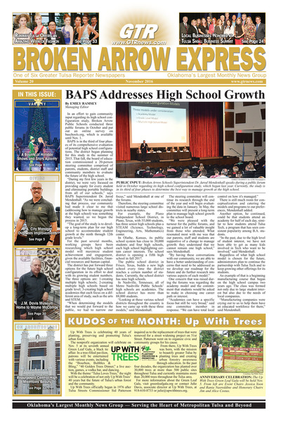Broken Arrow Express - November 2016