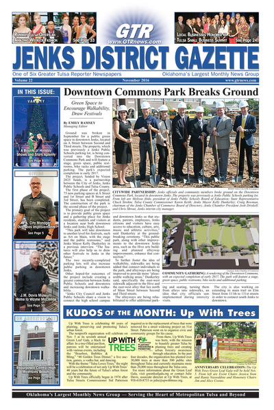 Jenks District Gazette - November 2016