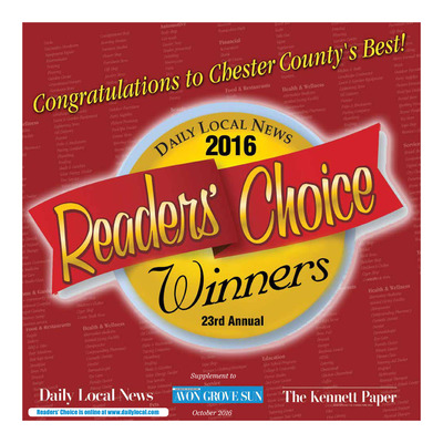 Daily Local - Special Sections - Readers Choice 2016