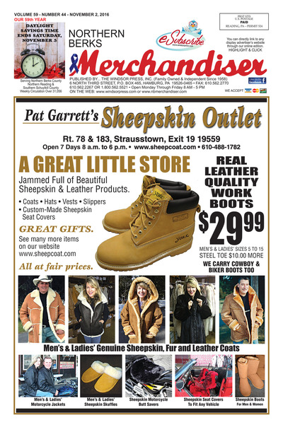 Northern Berks Merchandiser - Nov 2, 2016