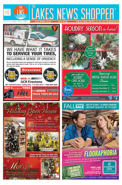 Lakes News Shopper - Nov 1, 2016