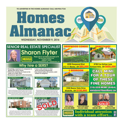 News-Herald - Special Sections - Homes Almanac - Nov 2016