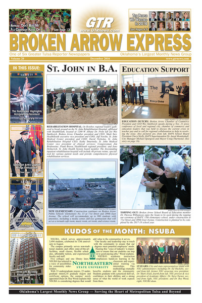 Broken Arrow Express - December 2016