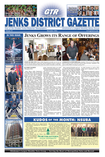 Jenks District Gazette - December 2016