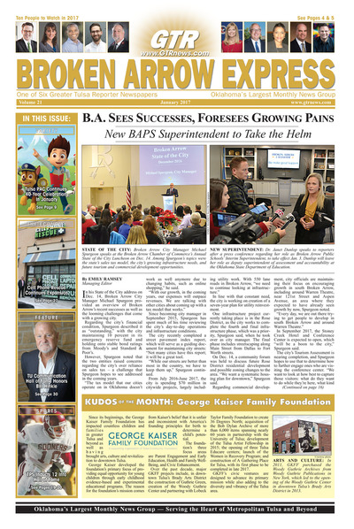 Broken Arrow Express - January 2017