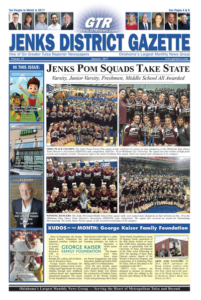 Jenks District Gazette - January 2017