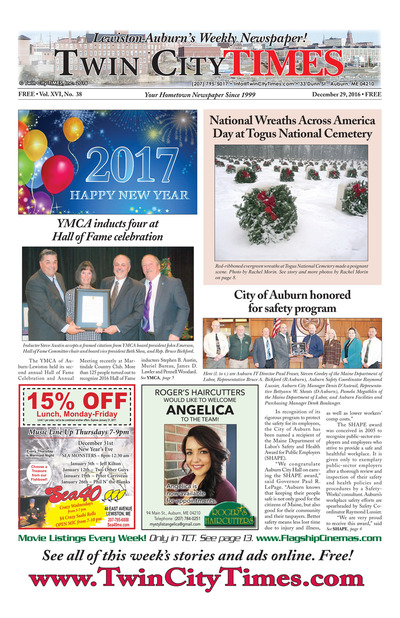 Twin City Times - Dec 29, 2016