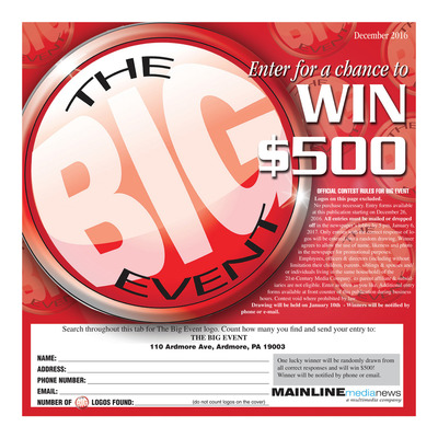 Mainline Media News Special Sections - Main Line Big Event