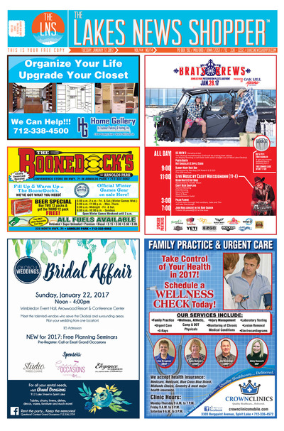 Lakes News Shopper - Jan 17, 2017