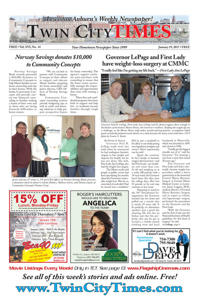 Twin City Times - Jan 19, 2017