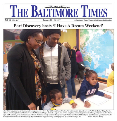 Baltimore Times - Jan 20, 2017