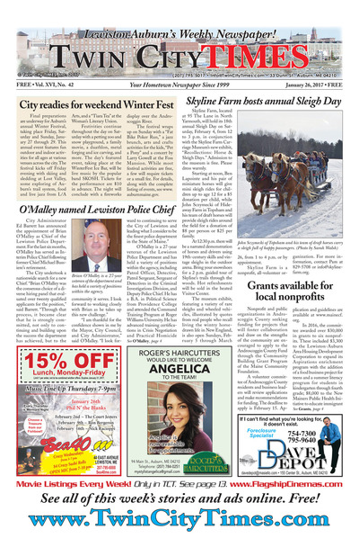 Twin City Times - Jan 26, 2017