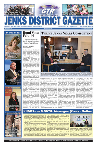 Jenks District Gazette - February 2017