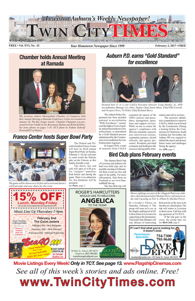 Twin City Times - Feb 2, 2017