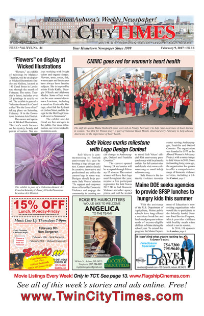Twin City Times - Feb 9, 2017