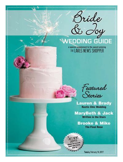 Lakes News Shopper - Wedding Guide