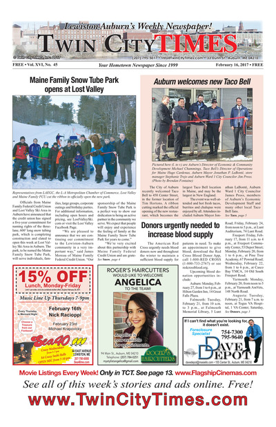 Twin City Times - Feb 16, 2017