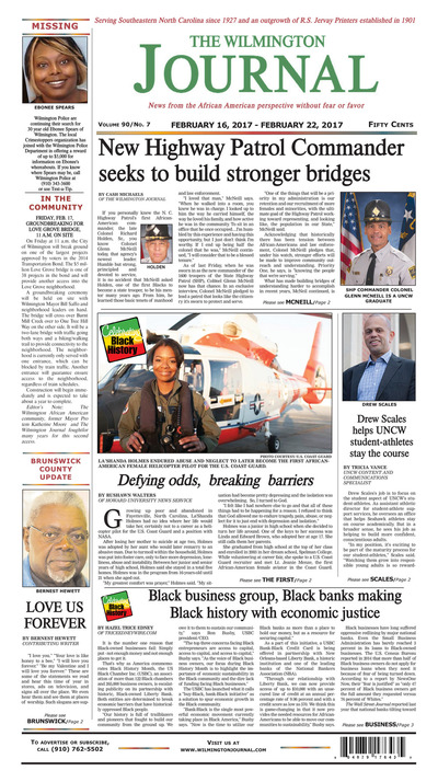 Wilmington Journal - Feb 16, 2017
