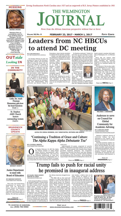 Wilmington Journal - Feb 23, 2017