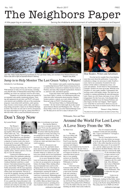 Neighbors Paper - March 2017