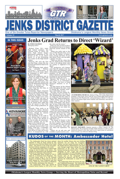 Jenks District Gazette - March 2017