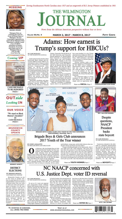 Wilmington Journal - Mar 2, 2017