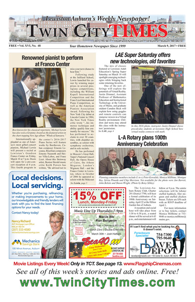 Twin City Times - Mar 9, 2017