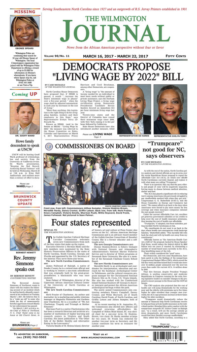 Wilmington Journal - Mar 16, 2017