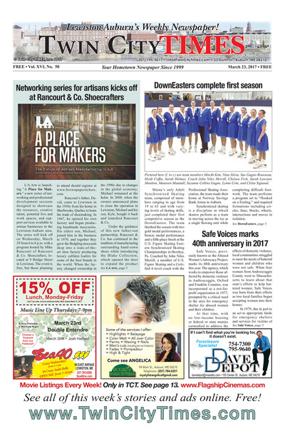Twin City Times - Mar 23, 2017