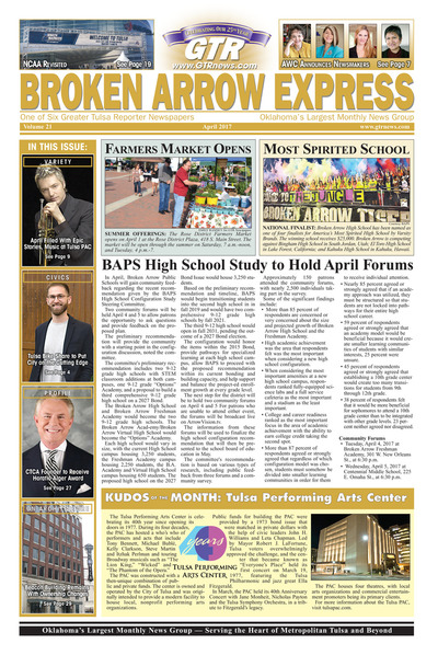Broken Arrow Express - April 2017
