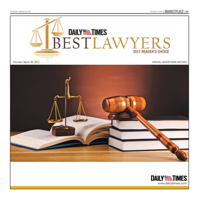 Delco Daily Times - Special Sections - 2017 Best Lawyers
